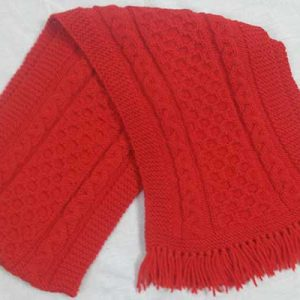 12A Aran Scarf Holly
