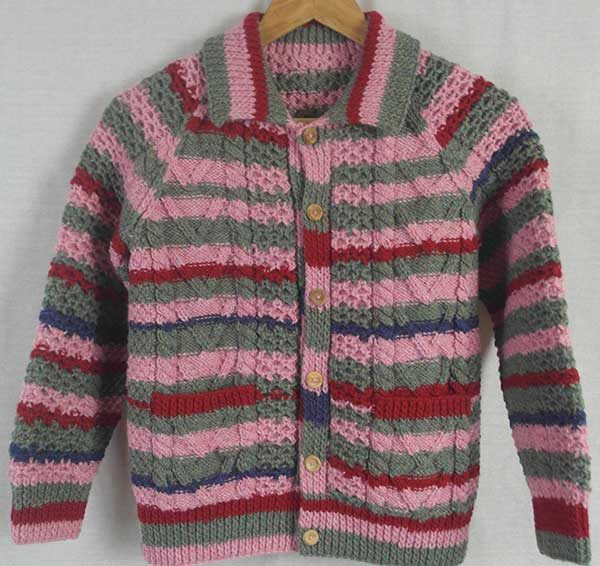 13A Childs Lumber Cardigan Assorted