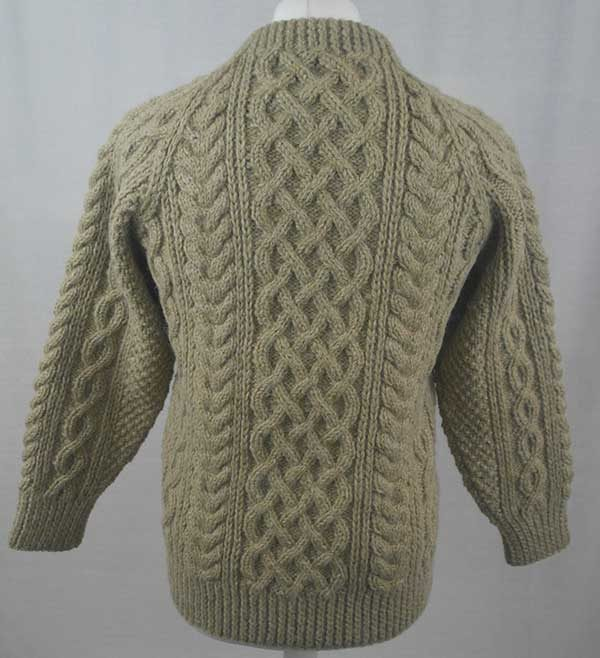 1A Country Meetings Crew Neck Sweater Beige Back