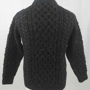 1A Country Meetings Crew Neck Sweater Back Black