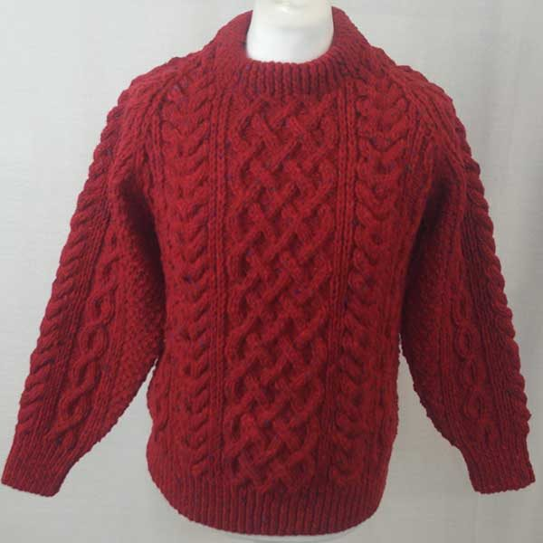 1A Country Meetings Crew Neck Sweater Red Front