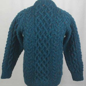 1A Country Meetings Crew Neck Sweater Teal back