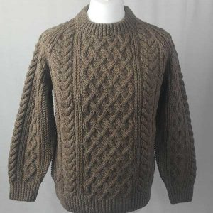 1A Country Meetings Crew Neck Sweater Nutmeg