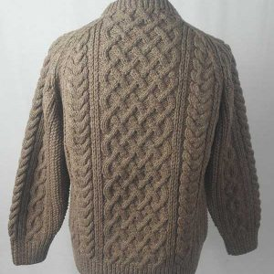 1A Country Meetings Crew Neck Sweater Nutmeg Back