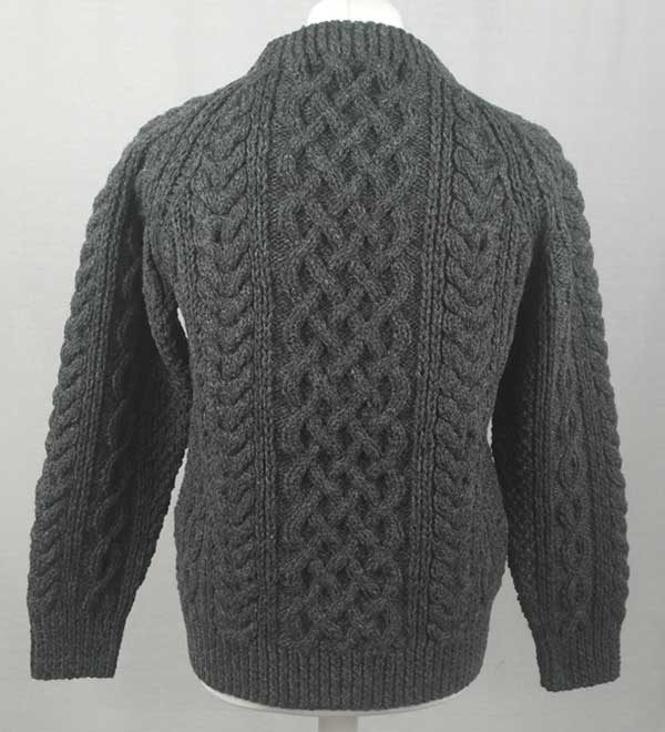 1A Country Meetings Crew Neck Sweater Oxford Back