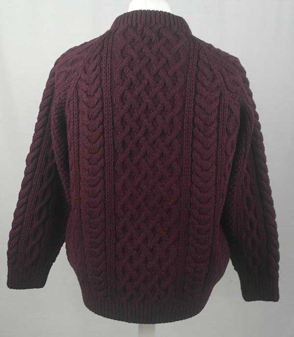 1A Country Meetings Crew Neck Sweater Wizard Back