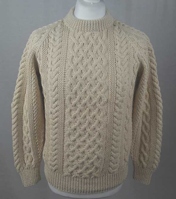 1A Country Meetings Crew Neck Sweater Natural
