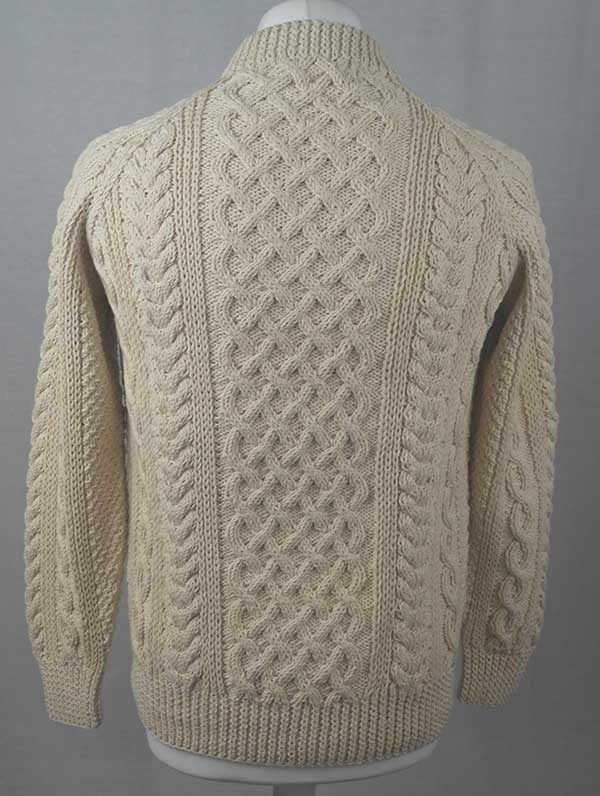 1A Country Meetings Crew Neck Sweater Natural Back