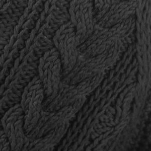 1A Country Meetings Crew Neck Sweater Charcoal Rennie Shetland