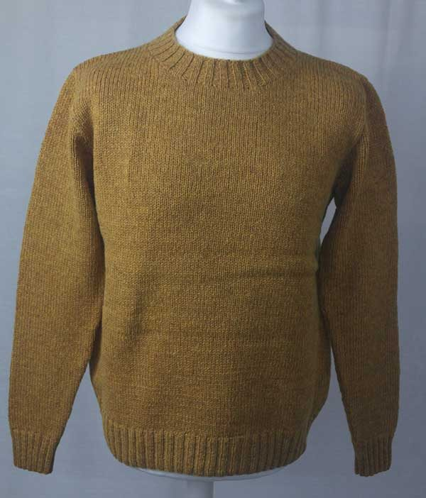 Hand Framed Crew Neck Sweater Cummin