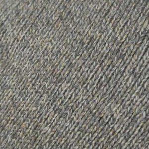 Hand Framed Crew Neck Sweater mushroom Rennies Shetland