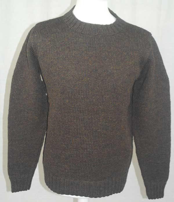 Hand Framed Crew Neck Sweater Turin