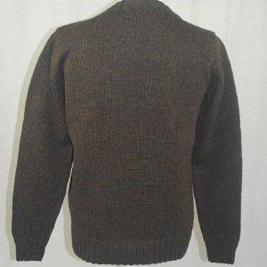 Hand Framed Crew Neck Sweater Turin Back