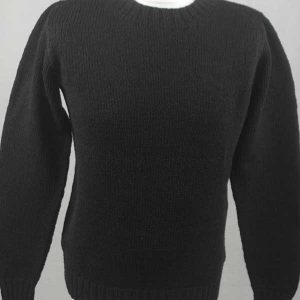 Hand Framed Crew Neck Sweater Truffle