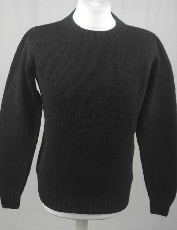 Hand Framed Crew Neck Sweater Truffle