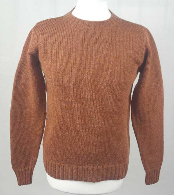 Hand Framed Crew Neck Sweater Sienna