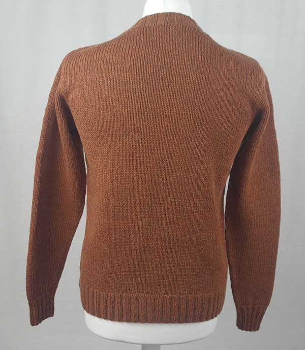 Hand Framed Crew Neck Sweater Sienna Back