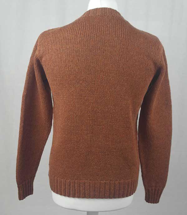 Hand Framed Crew Neck Sweater Sienna Back