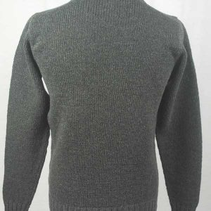 Hand Framed Crew Neck Sweater Spruce Back