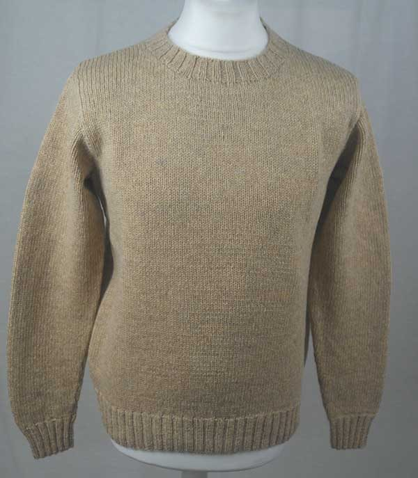 Hand Framed Crew Neck Sweater Spruce