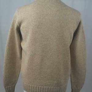 Hand Framed Crew Neck Sweater Spruce Back