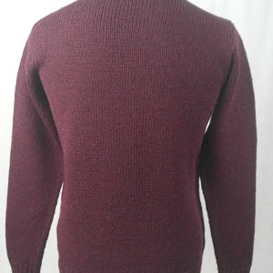 Hand Framed Crew Neck Sweater Wizard Back
