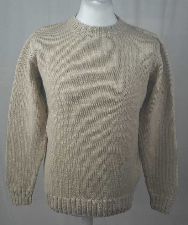 1Z Hand Framed Crew Neck Sweater Linen