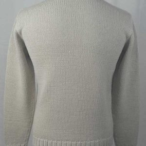 1Z Hand Framed Crew Neck Sweater Hessian