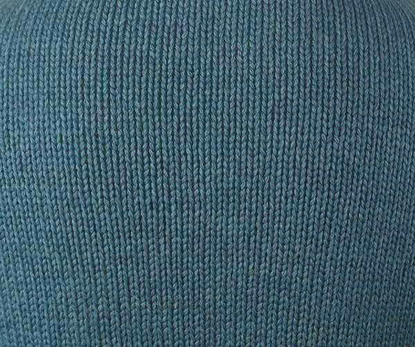 1Z Hand Framed Crew Neck Sweater Blue Cashmere