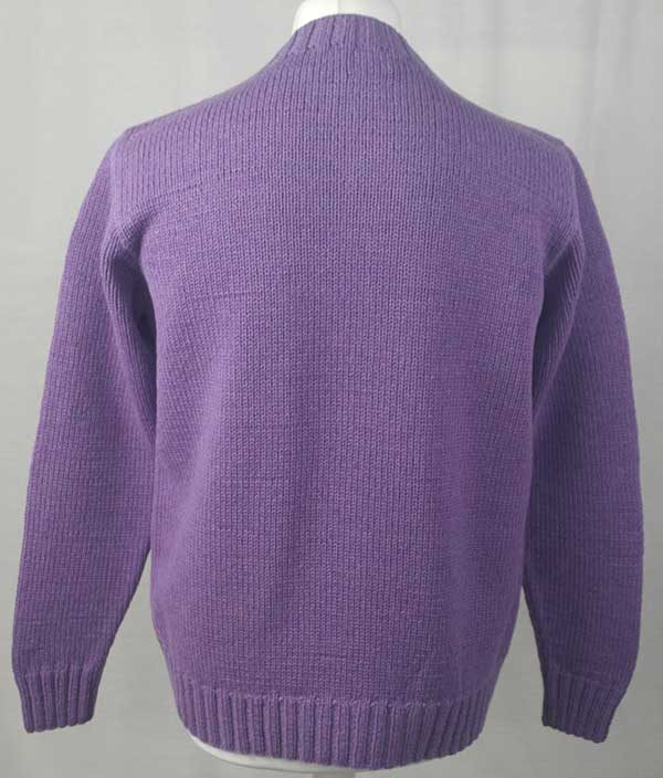 1A Hand Framed Crew Neck Sweater Clematis Back