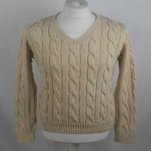 205 Cambus Cabled Sweater 265a Natural 505
