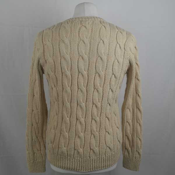 205 Cambus Cabled Sweater 265b Natural 505