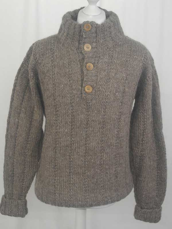218 Braemar Sweater Oatmeal