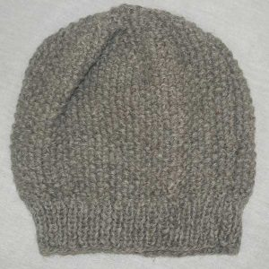 Moss Stitch Hat Bracken