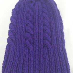 22F Rib & Cable Hat Jewel full