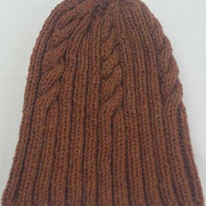 22F Rib & Cable Hat Scienna full