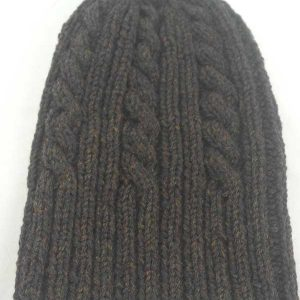 22F Rib & Cable Hat Turin Full22F Rib & Cable Hat Turin Full