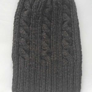 22F Rib & Cable Hat Mole full