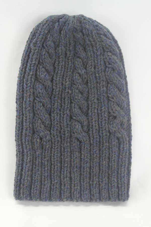 22F Rib & Cable Hat Seaholly full