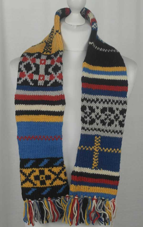 25L Tartan Fairisle & Blocked Scarf Assorted
