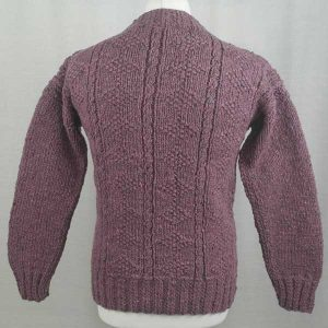 2B Sheila McGregor Crew Neck Sweater Pink Back