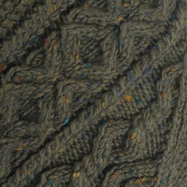 3A Lumber Cardigan Loden Donegal Tweed