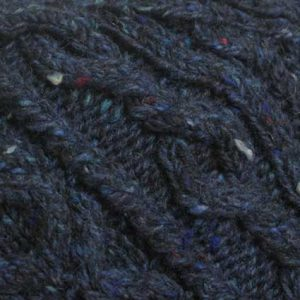 3A Lumber Cardigan Blue Donegal Tweed