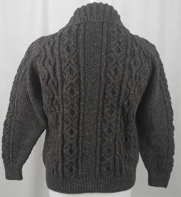 3A Lumber Cardigan Gritstone Back