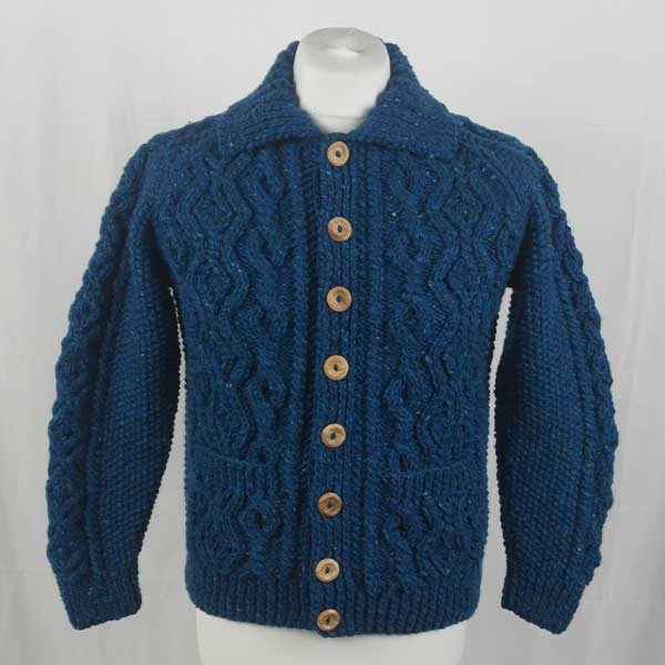 3A Lumber Cardigan 294a Turquoise 7045