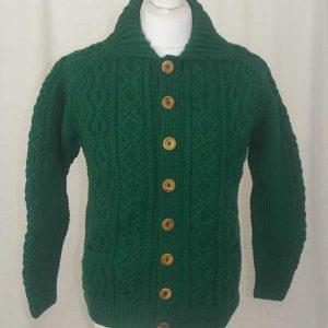 3A Lumber Cardigan Green