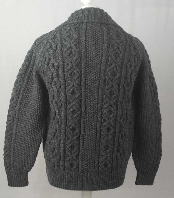 3A Lumber Cardigan Oxford Back