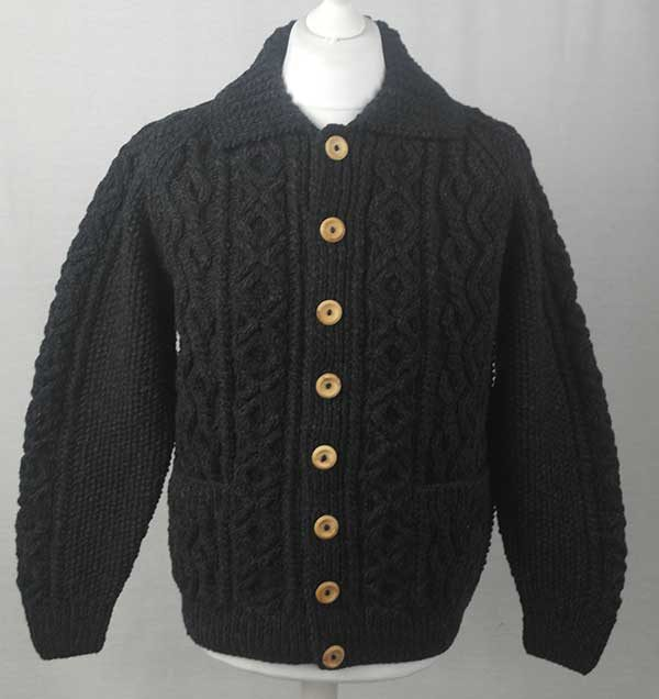 3A Lumber Cardigan Charcoal