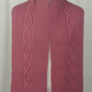 40G Diamond Scarf Pink