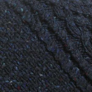 4A Golfer Cardigan Blue Donegal Tweed